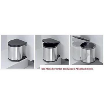 Einbau Abfallsammler-Kücheneimer 15 Liter rund
