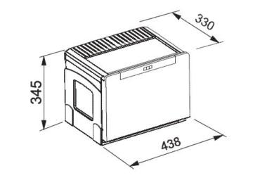 Franke Sorter Cube 50 Einbau Abfallsammlsystem Mülleimer Küche